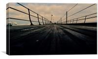 Damp Hythe Pier, Canvas Print