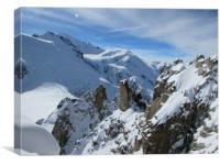 Mont Blanc                               , Canvas Print