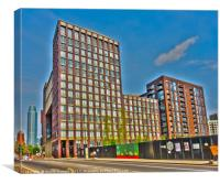 Embassy Gardens Legacy Building, Canvas Print