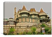 The Russell-Cotes Museum, Canvas Print