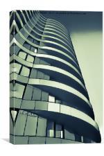Structuralist Architecture, Canvas Print