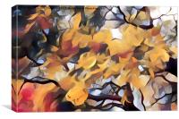 Dadaist Tree, Canvas Print