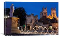 York in England, Canvas Print