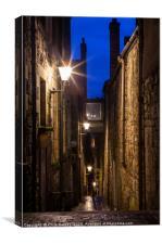 Anchor Close in Edinburgh, Canvas Print