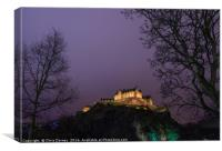 Edinburgh Castle in Scotland, Canvas Print