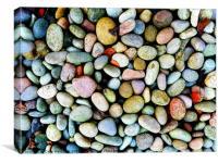 Pebbles, Canvas Print
