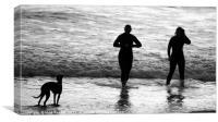 Dog's Life, Canvas Print