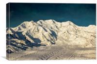 Mount Blackburn, Canvas Print