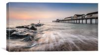 Sunrise Southwold Pier, Suffolk, Canvas Print