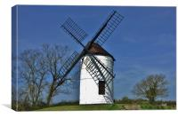 Ashton Windmill, Somerset                         , Canvas Print