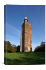 Alfred's Tower, Somerset                          , Canvas Print