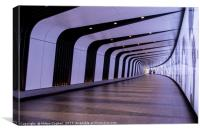 King's Cross pedestrian tunnel, Canvas Print