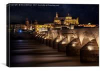 Cordoba, Roman Bridge., Canvas Print