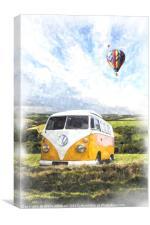 Field Camper, Canvas Print