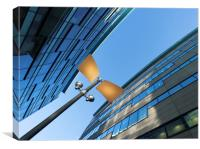 Architecture at Salford Quays, Manchester , Canvas Print