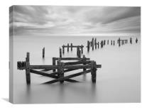 Swanage old Pier, Canvas Print