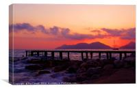 Pastel Sunset, Canvas Print