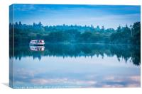Peaceful Mooring, Canvas Print