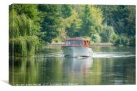 Broads Cruiser, Canvas Print