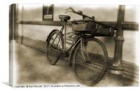 Tradesman's Bicycle, Canvas Print