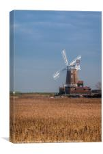 Cley Windmill North Norfolk Coast, Canvas Print