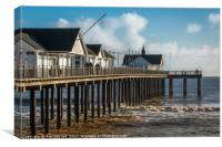 Southwold Pier Suffolk Coast, Canvas Print