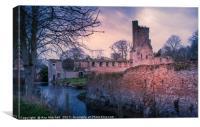 Caister Castle Norfolk, Canvas Print