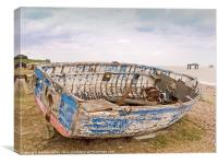 Old Derelict boat  Sizewell Beach