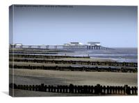 Cromer Pier in the Distance, Canvas Print