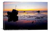 Southend Sunrise 2, Canvas Print