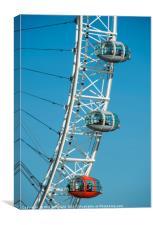 London Eye, Canvas Print