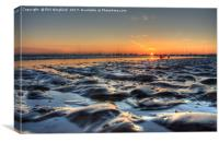 Southend Seascape, Canvas Print