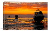 Thames Estuary Sunrise, Canvas Print