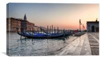 Venice Glow , Canvas Print