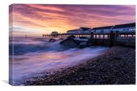 Southwold Sunrise, Canvas Print