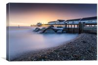 Southwold Pier long exposure, Canvas Print