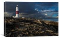 Portland Bill Lighthouse, Dorset, Canvas Print