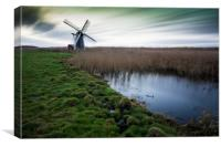 Herringfleet Windmill, Canvas Print