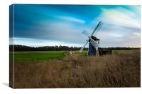 Walkers Mill Herringfleet, Canvas Print