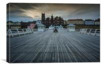 Cromer from the Pier, Canvas Print