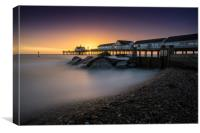 Southwold Pier at Sunrise, Canvas Print