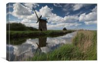 Brograve Windmill, Canvas Print
