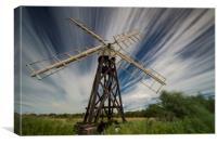 Boardmans Drainage Mill, , Canvas Print