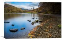 Grassmere lake , Canvas Print