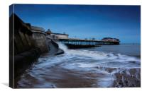 Cromer Pier early morning, Canvas Print