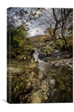 Ashness Bridge , Canvas Print