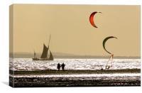 Estuary at Dusk, Canvas Print
