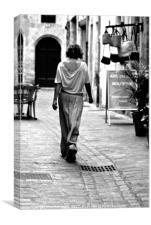 Walk This Way, Canvas Print
