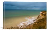 Beachy Head Lighthouse, Canvas Print