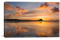 Reflections on Cornwall #1, Canvas Print